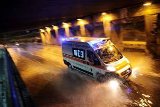 Ambulanza (immagine di repertorio, CLAUDIO GIOVANNINI/AFP/Getty Images)