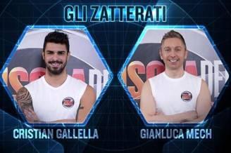 Cristian Gallella e Gianluca Mech