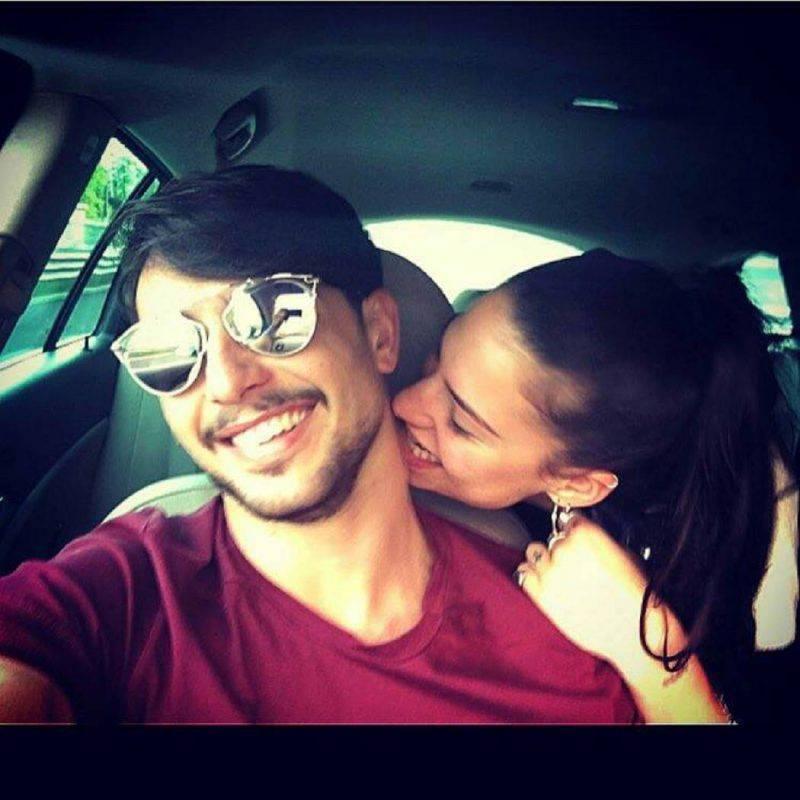 Ludovica Valli e Fabio Ferrara (Facebook)