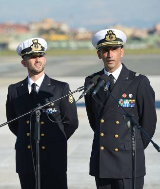 I marò Salvatore Girone e Massimiliano Latorre (VINCENZO PINTO/AFP/Getty Images)