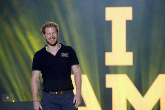 Il Principe Harry agli Invictus Games (Gustavo Caballero/Getty Images for Invictus Games)