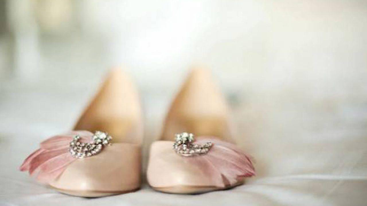 Scarpe Da Sposa Basse 2016.Le Piu Belle Scarpe Basse Da Sposa
