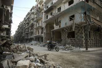 Aleppo, Siria (KARAM AL-MASRI/AFP/Getty Images)