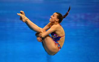Tania Cagnotto agli Europei 2016 di Londra (Dan Mullan/Getty Images)