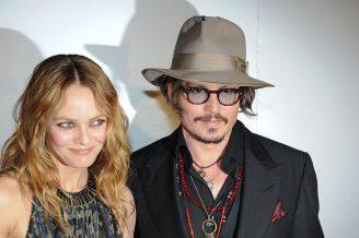 Vanessa Paradis E Johnny Depp (MARTIN BUREAU/AFP/Getty Images)