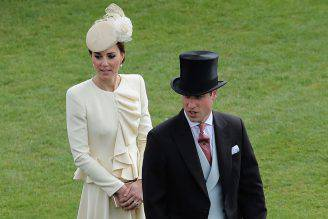 Kate e William al Garden Party (AN KITWOOD/AFP/Getty Images)