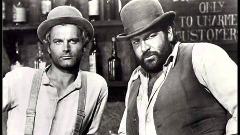 Terence Hill superospite a