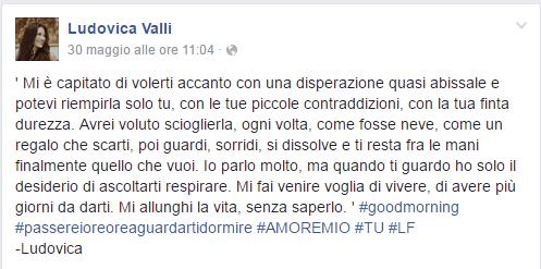 Ludovica Valli - Facebook