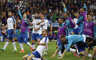 Italia-Belgio 2 a 0 a Euro 2016 (JEFF PACHOUD/AFP/Getty Images)