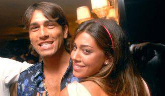 Marco Borriello e Belen Rodriguez