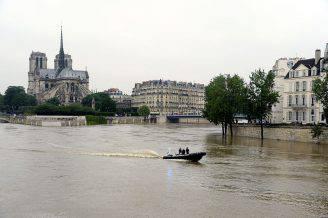 Piena della Senna a Parigi (BERTRAND GUAY/AFP/Getty Images)