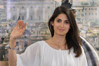 Virginia Raggi (TIZIANA FABI/AFP/Getty Images)