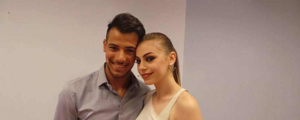 Alessia Cammarota e Aldo Palmeri.