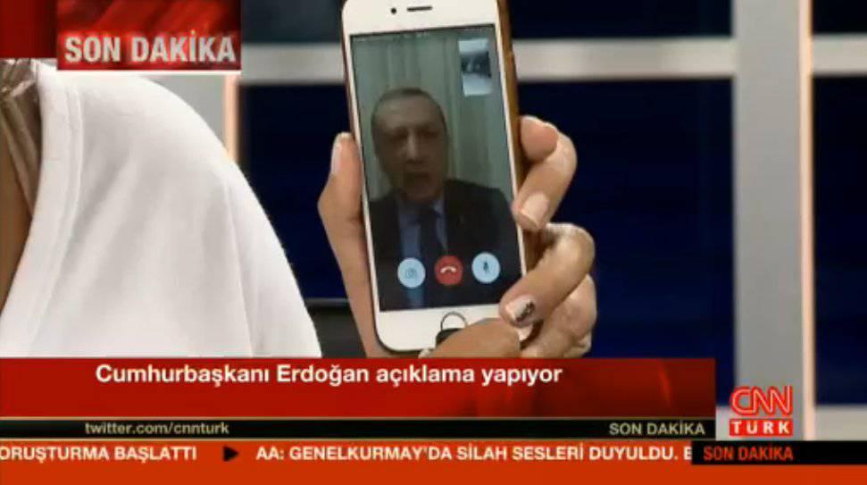 erdogan facetime