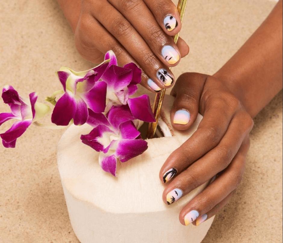 Tutorial Nail Art Come Realizzar L Effetto Tramonto Sulle Unghie