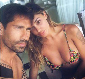 Borriello e Belen (Foto Instagram)
