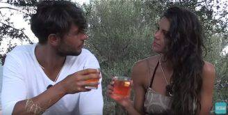 Fabrio Ferrara e Francesca Serra a Temptation Isalnd (Screenshot YouTube)