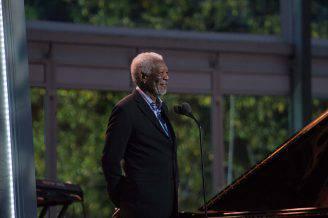 Morgan Freeman (NICHOLAS KAMM/AFP/Getty Images)