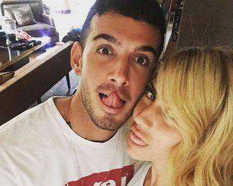 Lucas Peracchi e Paola Caruso (Instagram)