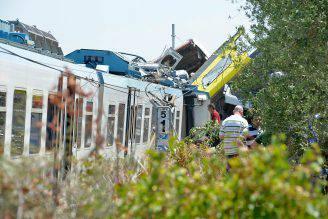 Scontro tra treni in Puglia del 12 luglio 2016 (GAETANO LO PORTO/AFP/Getty Images)