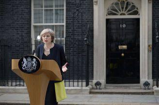 Theresa May, nuova premier del Regno Unito (OLI SCARFF/AFP/Getty Images)
