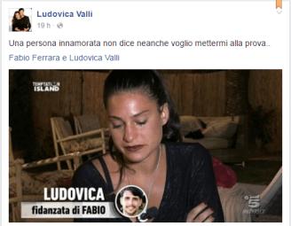 Facebook: pagina ufficiale di Ludovica Valli e Fabio Ferrara