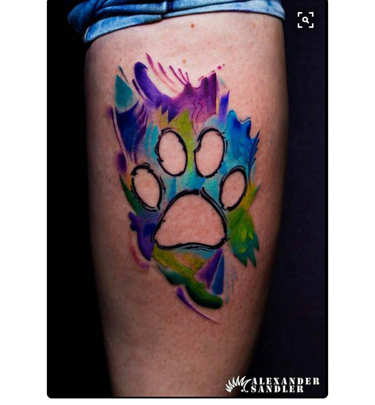 I pi bei tatuaggi dedicati a cani e gatti direttamente for Tatuaggi dedicati ai figli