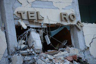 Terremoto ad Amatrice (FILIPPO MONTEFORTE/AFP/Getty Images)