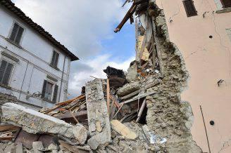 Terremoto ad Arquata del Tronto (Giuseppe Bellini/Getty Images)