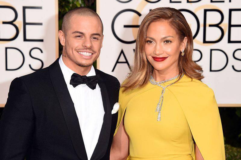 Casper Smart e Jennifer Lopez (Jason Merritt/Getty Images)