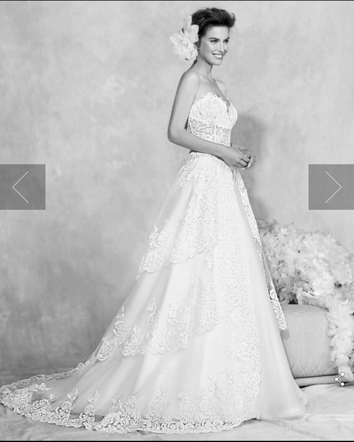 4f55235b1a50 Gli abiti da sposa più belli della collezione Florinda di Carlo Pignatelli  in una romantica foto gallery