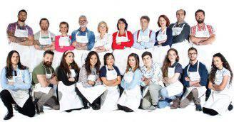 Bake Off Italia 4: i concorrenti (Dal sito web ufficiale)
