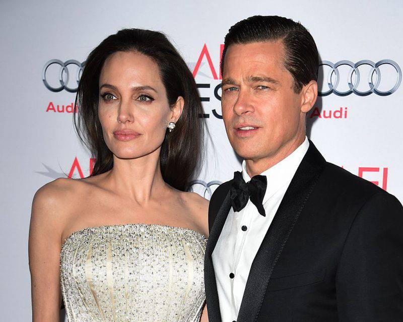 Angelina Jolie e Brad Pitt (MARK RALSTON/AFP/Getty Images)