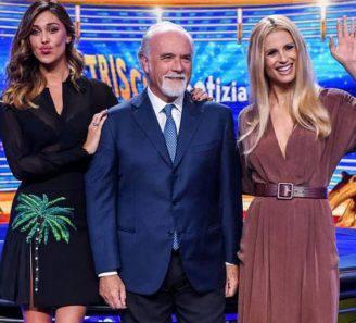 Belen Rodriguez, Antonio Ricci e Michelle Hunziker (Instagram)