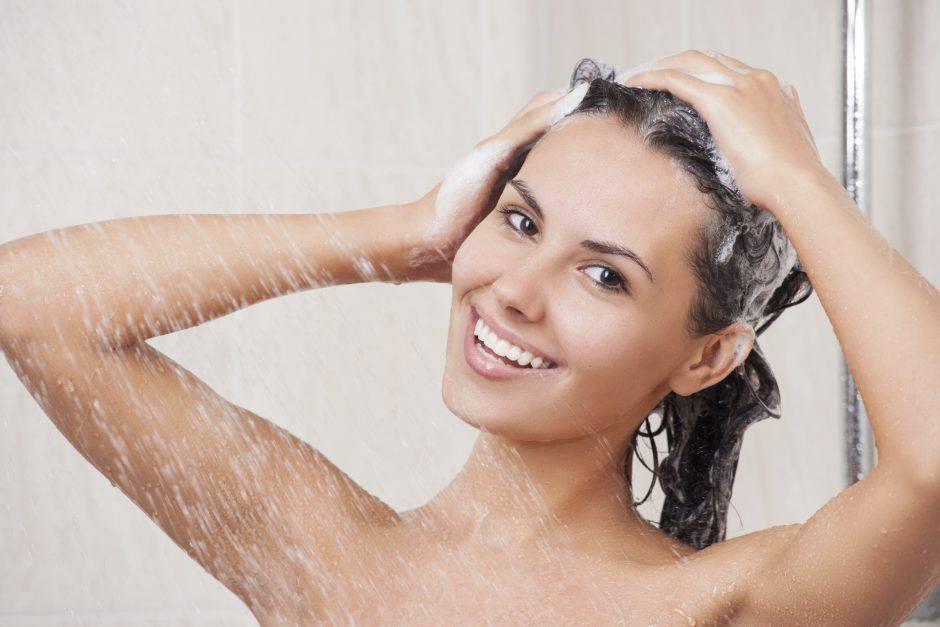 capelli lavaggio