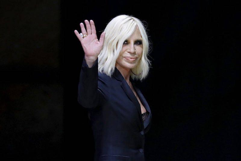 Donatella Versace (PATRICK KOVARIK/AFP/Getty Images)