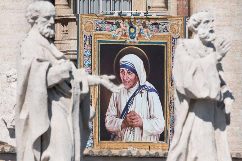 Canonizzazione di Madre Teresa in Piazza San Pietro (Massimo Valicchia / Getty Images)