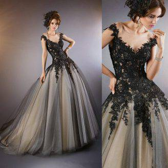 buy popular 3f9f0 108bc La sposa in nero, in una romantica foto gallery