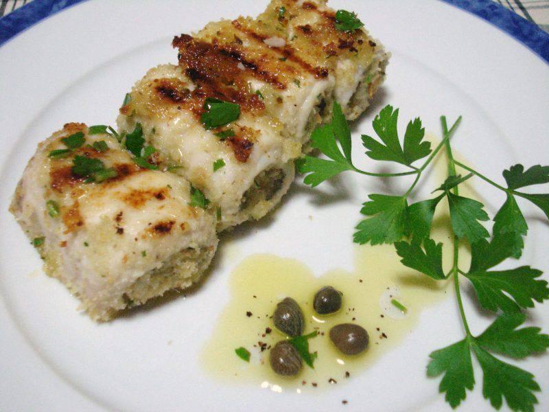 Secondi piatti involtini di pesce spada alla siciliana for Secondi piatti di pesce