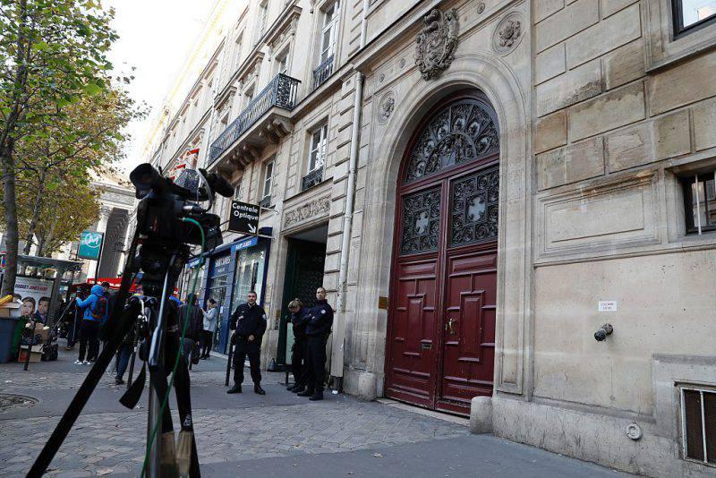 L'Hotel di Parigi dove Kim Kardashian è stata rapinata (THOMAS SAMSON/AFP/Getty Images)