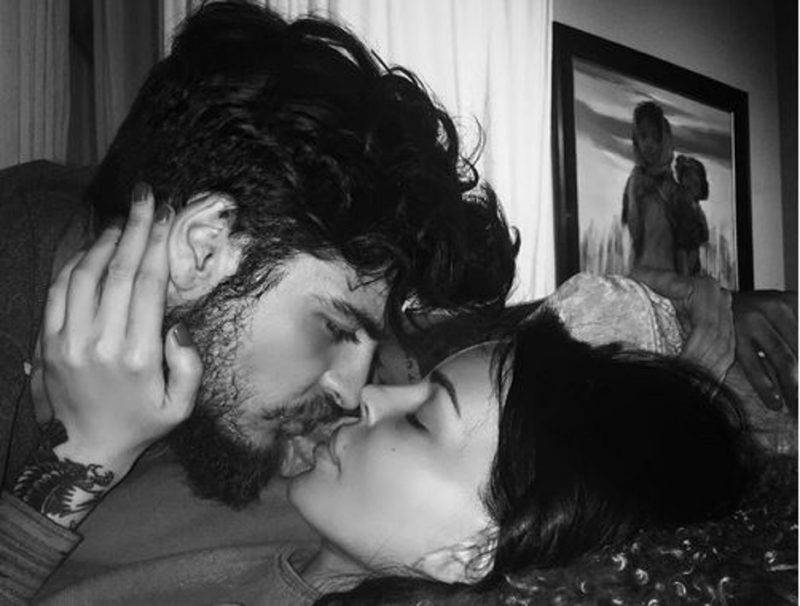 Nina Moric e Luigi Mario Favoloso (Instagram)