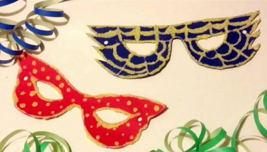 scarpe da corsa prezzo minimo saldi Come preparare delle mascherine di Carnevale con la polenta