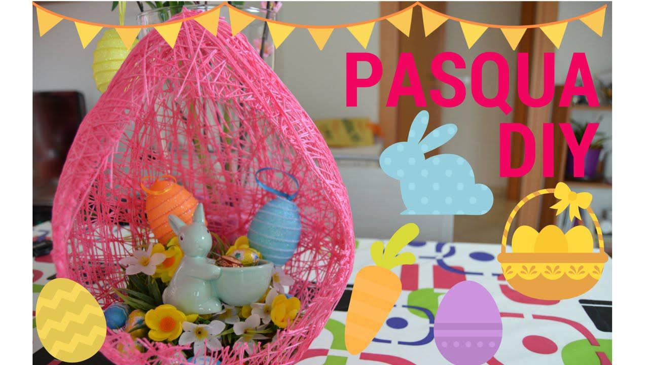 Ben noto DIY: come realizzare un maxi uovo di Pasqua fai da te da regalare  ZE46