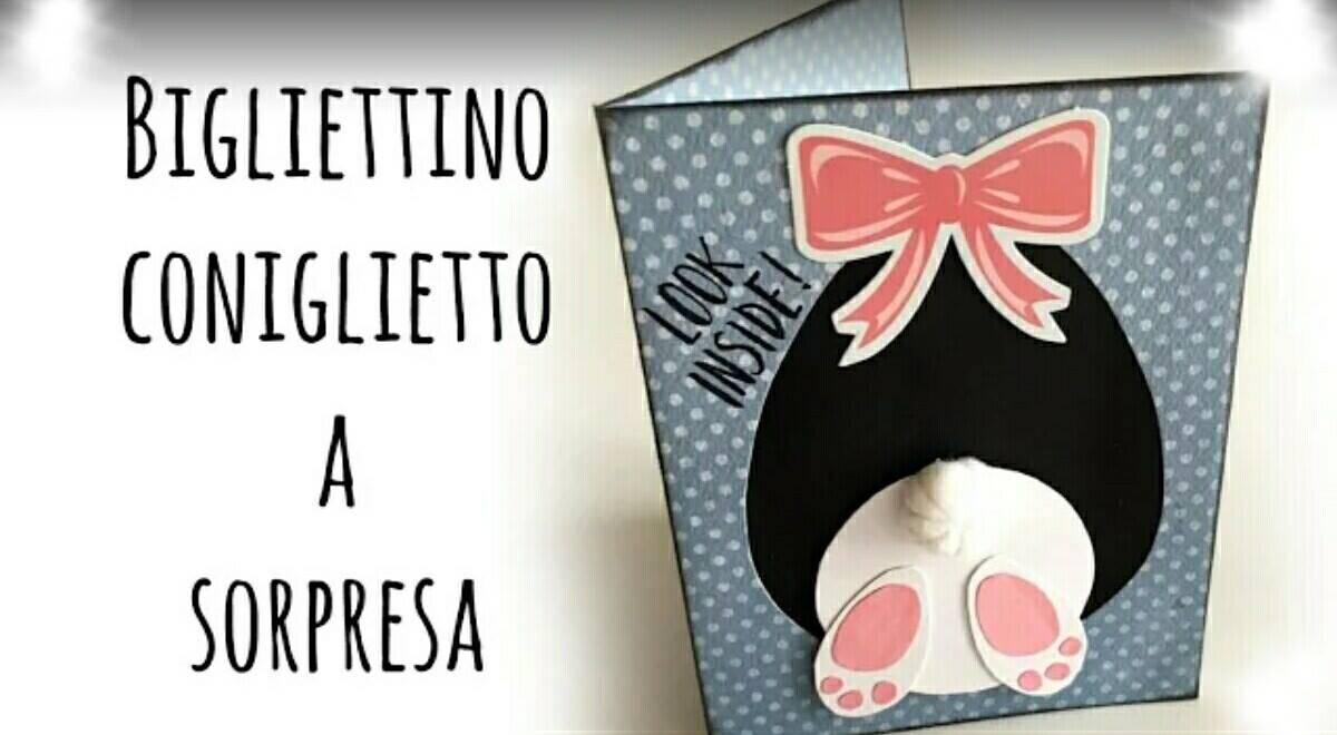 Diy biglietto coniglietto con sorpresa per la pasqua - Modelli di coniglietto pasquale gratis ...