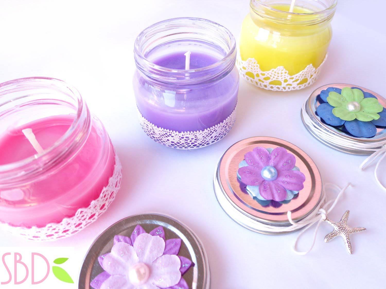 Candele Da Giardino Fai Da Te : Diy candele profumate fai da te senza l utilizzo della cera