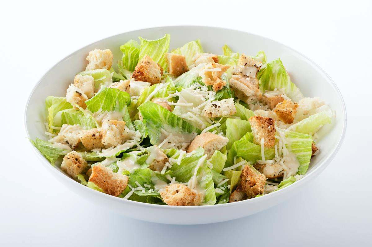 Caesar salad senza uova