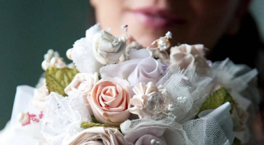 Bouquet Sposa Fai Da Te.Matrimonio Un Bouquet Fai Da Te In Stoffa