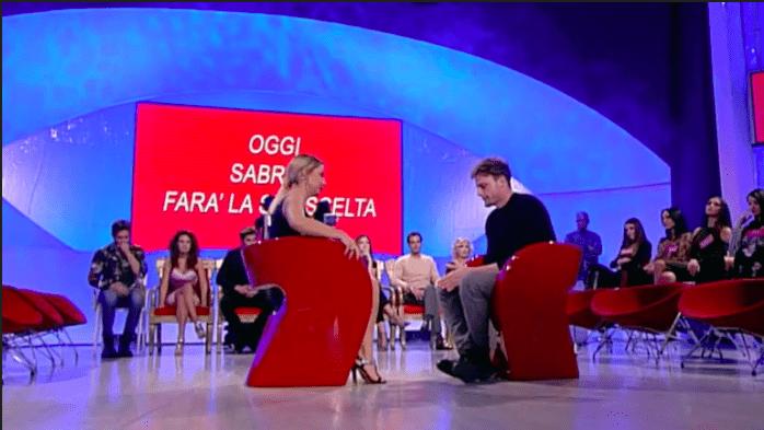 Uomini e donne, Sabrina Ghio sceglie Nicolò Raniolo. E lui la rifiuta