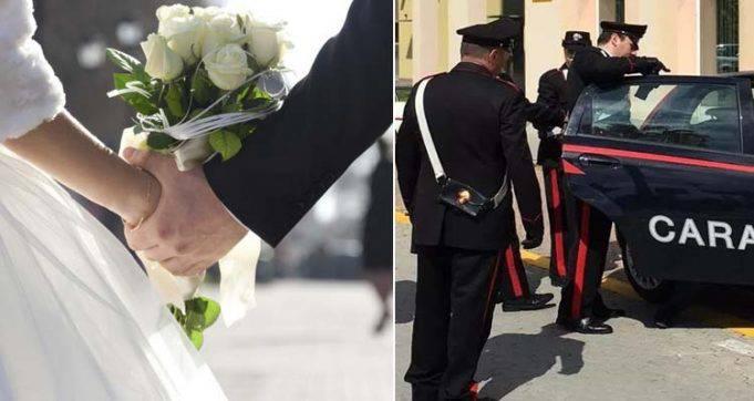 Fa un brutto commento sull'abito della sposa, matrimonio finisce in rissa