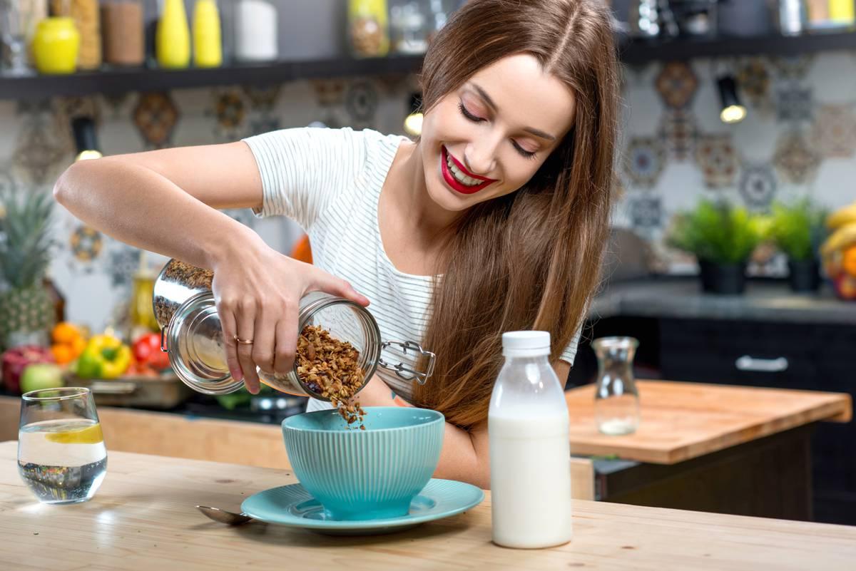 donna a colazione